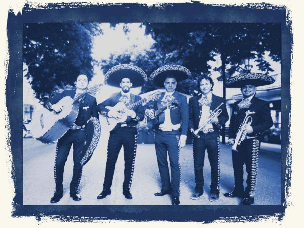 trompetas de mexico george cluney mariachi
