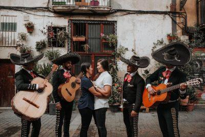 Propuesta Matrimonio Sheri y Rocio mariachi boda gay lgbt