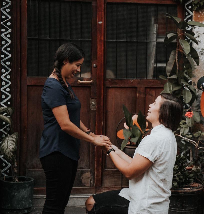 Propuesta Matrimonio Sheri y Rocio gay lgbt