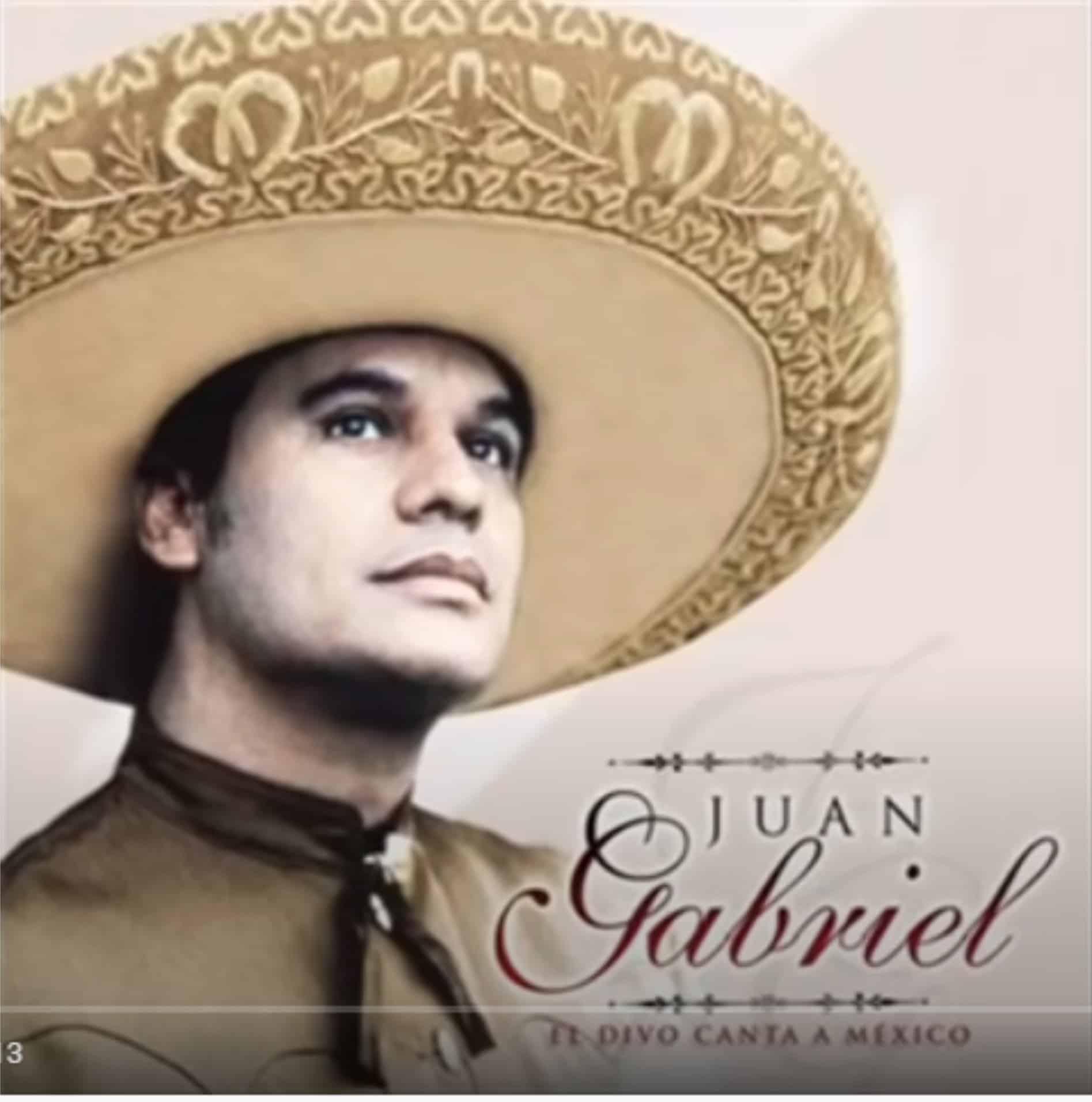 Juan Gabriel hasta que te conoci letra portada disco